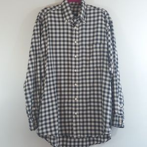 Burberry London Plaid Button Down Shirt